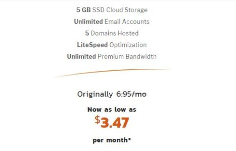 3.47$/mo Known Host Cheap Web Hosting