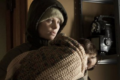 Charlize Theron as The Woman in the film version of Cormac McCarthy's, <i>The Road</i>