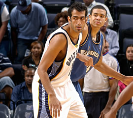 Hamed Haddadi. Photo Credit: NBA.com