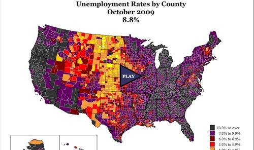 County unemployment