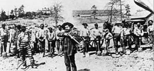 chain gang Atlanta, Georgia
