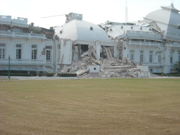 Capitol building in Port-au-Prince Haiti