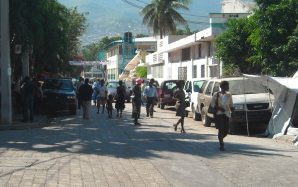 Haiti street