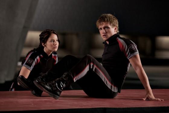 The Hunger Games Katniss and Peeta