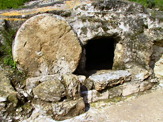 typical tomb in Jerusalem