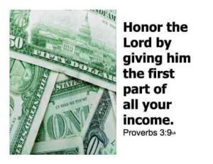 Generosity Proverbs giving