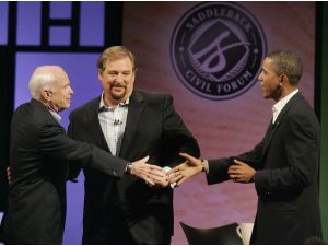 Rick Warren cancels civil forum at Saddleback Church