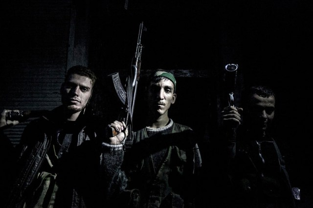 war in Syria fighters