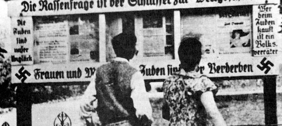nazi propaganda sign