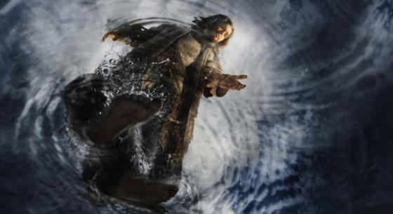 Jesus walks on water The Bible