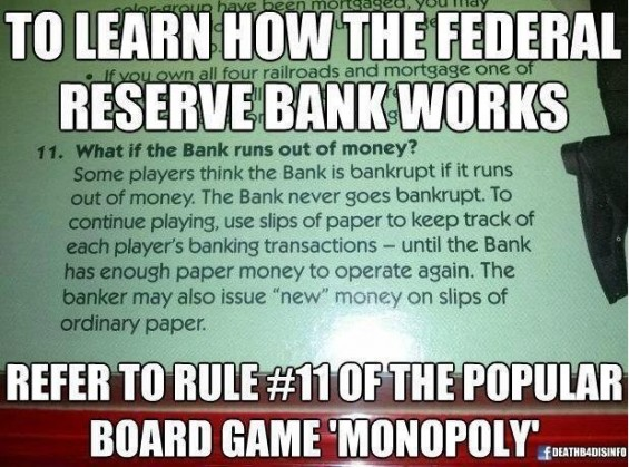 How does the Federal Reserve Bank work