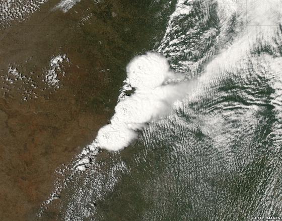 Moore Oklahoma tornado satellite