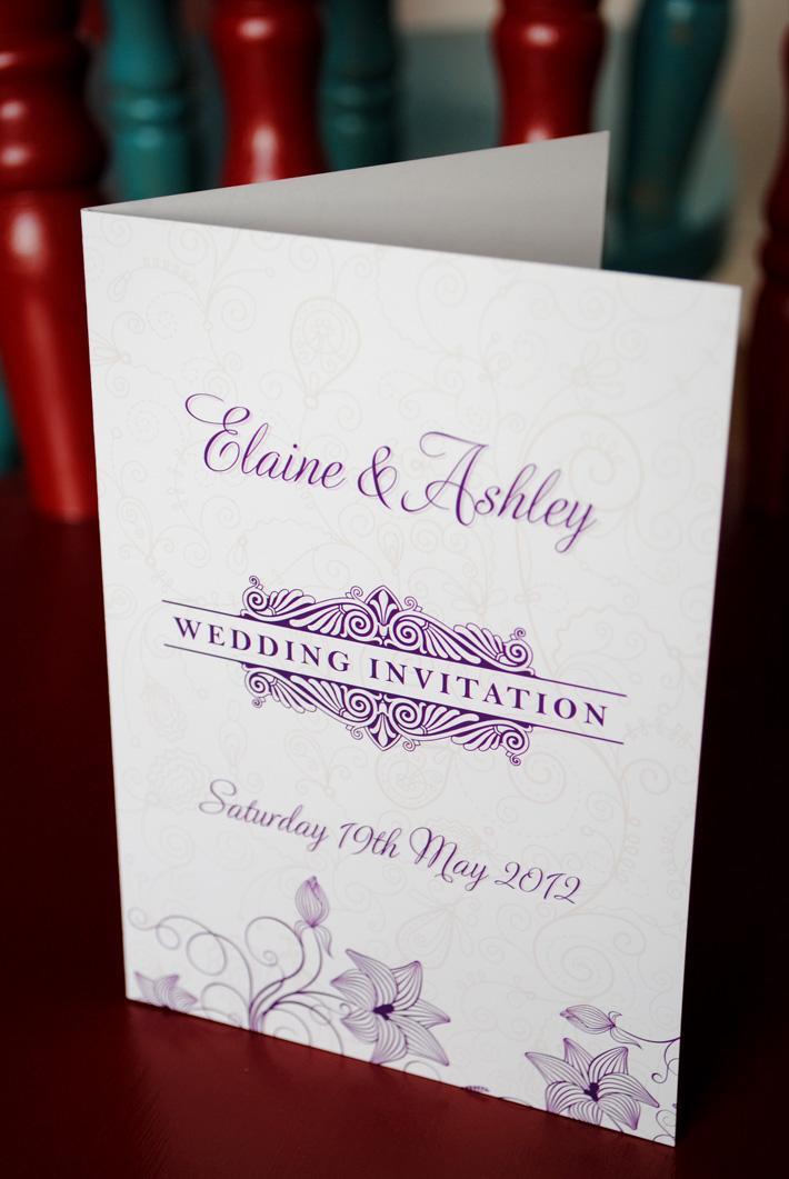 Wedding Invitations  Wedding Stationery Northern Ireland