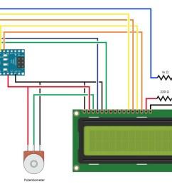 lcdsparallel circuitdiagram 004 2n2222 1200 [ 1200 x 831 Pixel ]