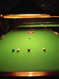 Setting Up A Snooker Table & Billiard Table Set Royalty ...