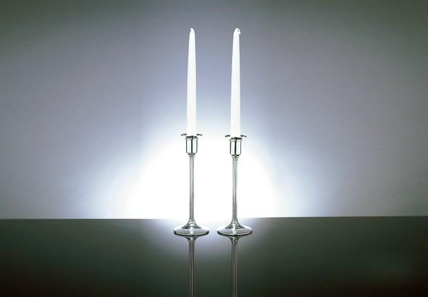 Pagoda Candlesticks