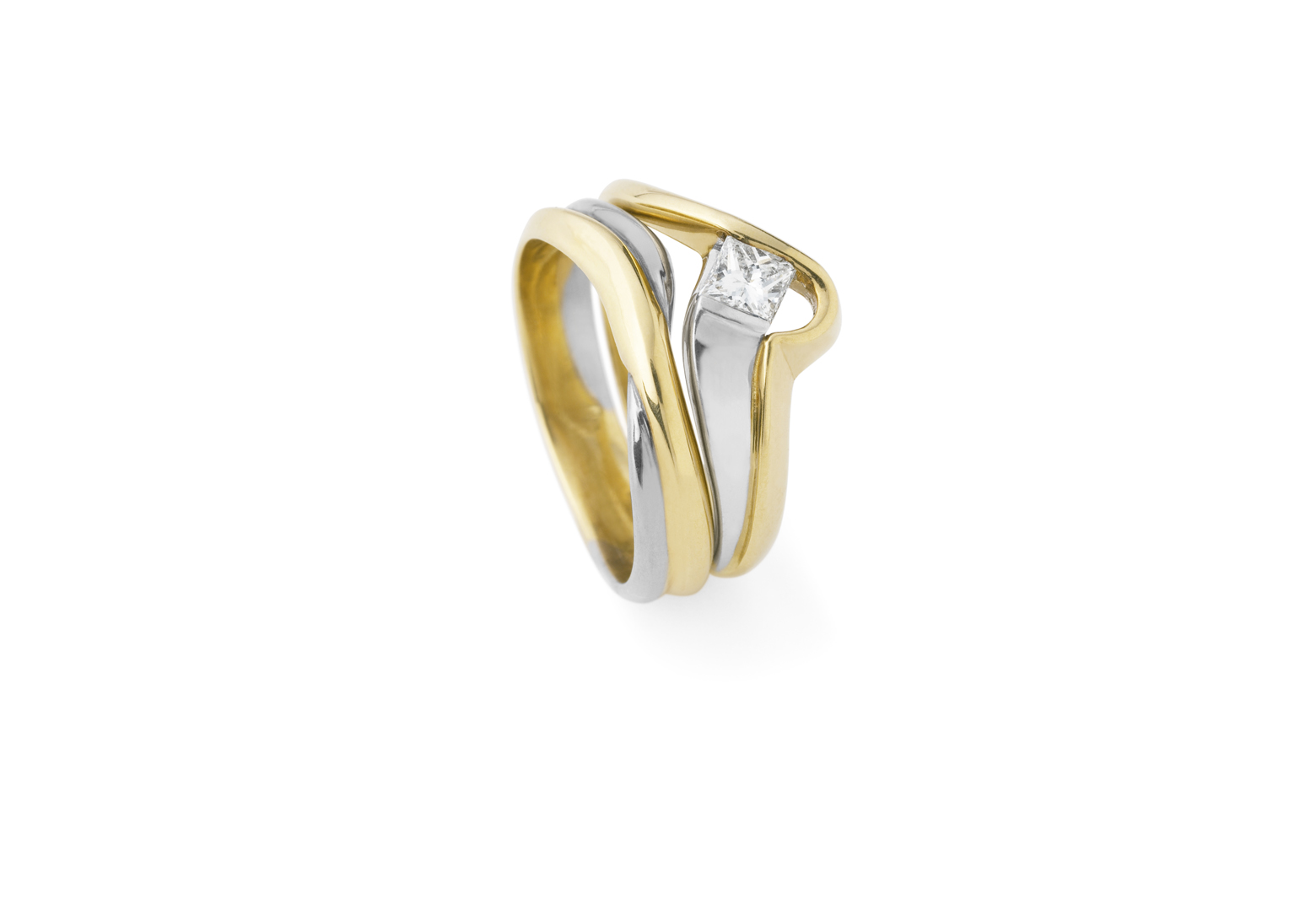 Radiant Gold Ring