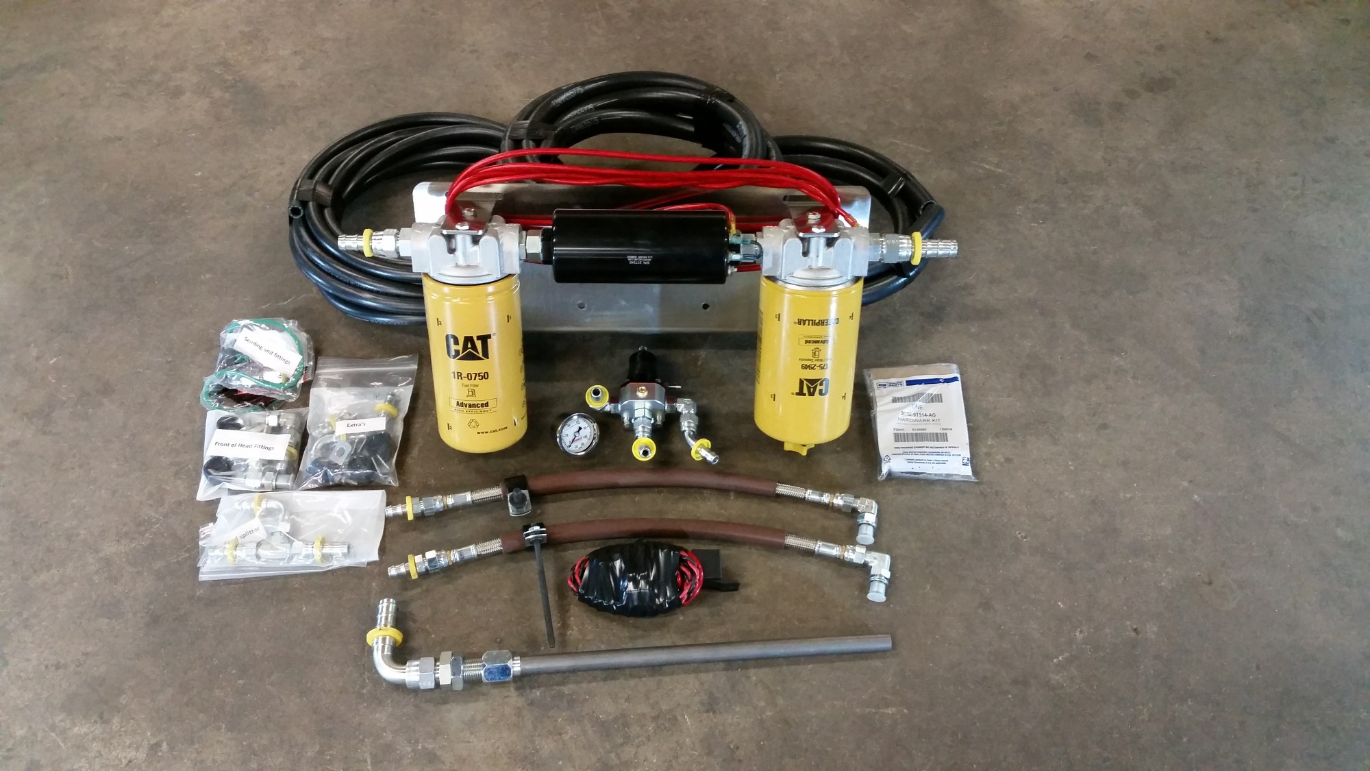 hight resolution of 6 0 fuelab competition only fuel system with