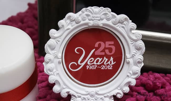 25th anniversary decorations vow
