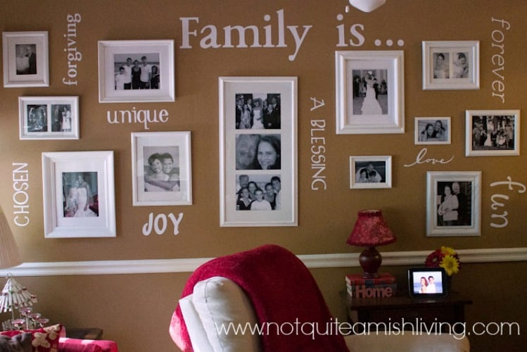 Share Your Family Values In Your Home Decor Not Quite Amish