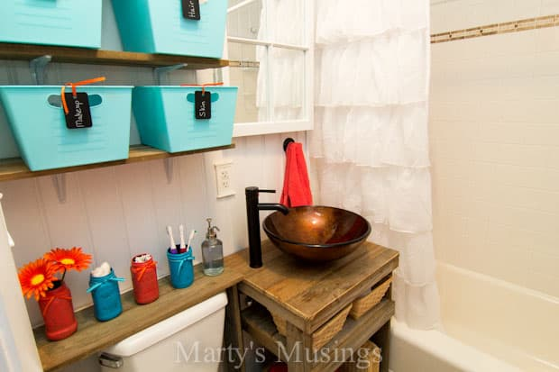 Small Bathroom Renovation by Marty's Musings