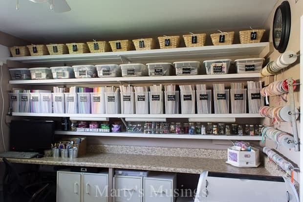 Craft Room Makeover And Organization Ideas Marty S Musings