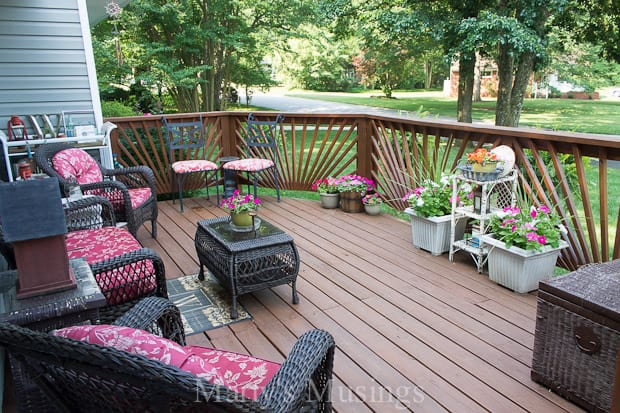 Budget Decorating Ideas for the Deck