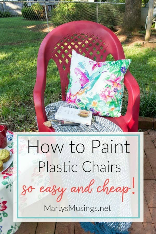 how to paint plastic chairs ethan allen club chair slipcovers spray an easy makeover marty s musings don t throw away that ugly outdoor furniture this diy anyone can