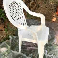 All Weather Wicker Outdoor Chairs Home Chair Lift How To Spray Paint Plastic Chairs: An Easy Makeover! | Marty's Musings
