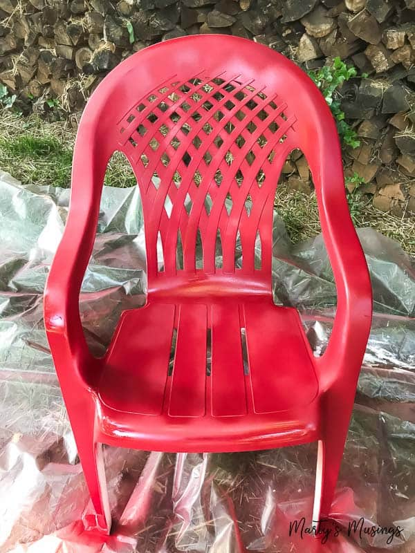 how to paint plastic chairs chair covers for sale pretoria spray an easy makeover marty s musings don t throw away that ugly outdoor furniture this diy anyone can
