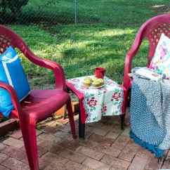 How To Paint Plastic Chairs Yellow Swivel Accent Chair Spray An Easy Makeover Marty S Musings Don T Throw Away That Ugly Outdoor Furniture This Diy Anyone Can