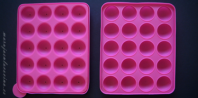 Molde para Cake Pops de silicona
