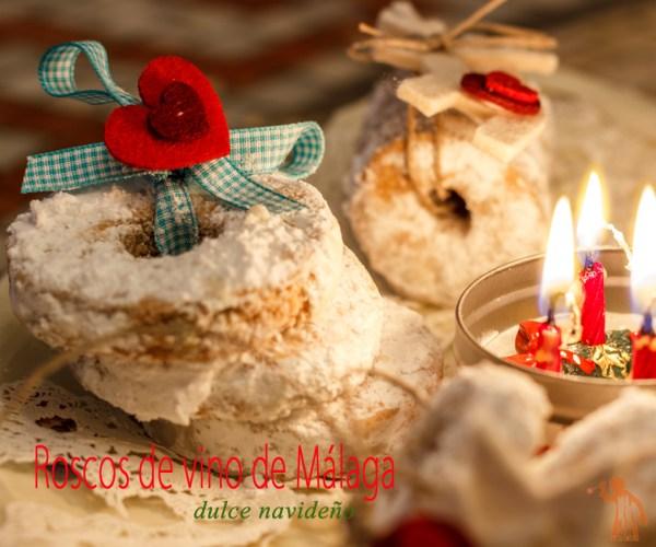 Roscos de vino de Málaga - Dulces de Navidad