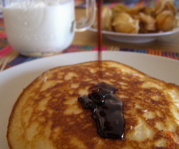 Tortitas con caramelo