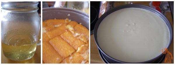 Paso a paso de la tarta cremosa de queso con frutos rojos