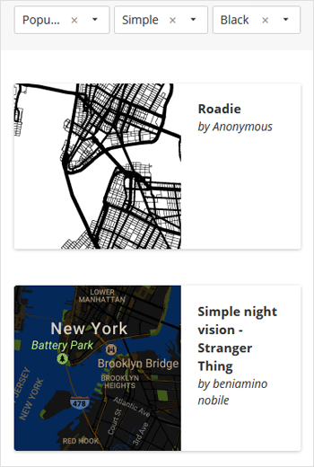 Snazzy Maps - Style