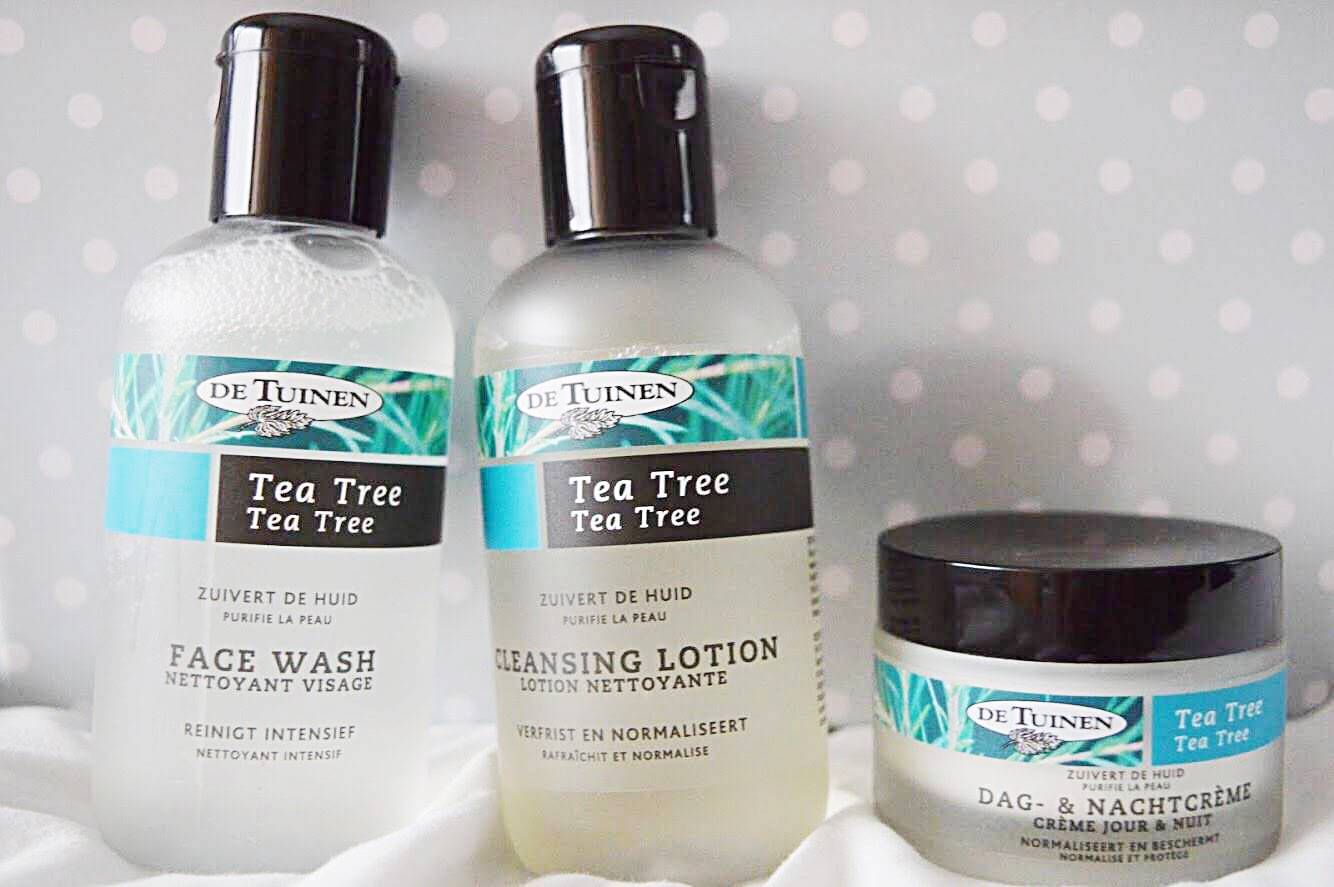 Review: Tea tree gezichtsreiniging De Tuinen