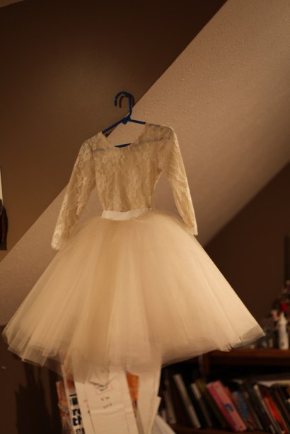 Lace leotard, flower girl lace dress, tulle ivory champagne tulle skirt tutu, wedding dress, russian, ukrainian