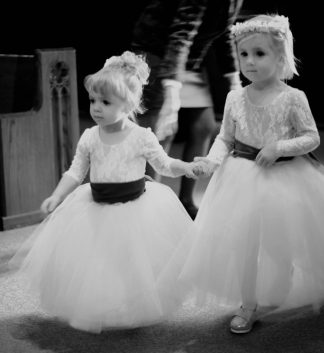 flower girl dress lace leotard and tulle skirt