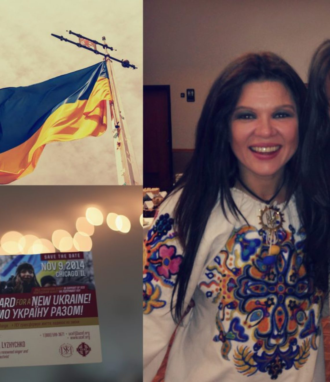 Ukrainian Catholic University Benefit Chicago Ruslana Lyzhychko Maidan Anagrassia