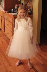 Ivory White First Holy Communion Dress | Marusya Marusya