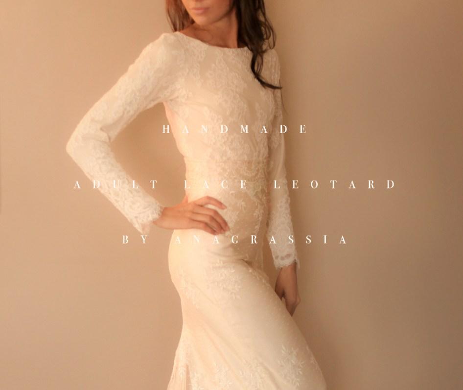 Alencon, ivory, white, lace, leotard, bridal, wedding, bride, dress, blush, onesie, fall, winter, champagne, bodysuit, suit, cream, dress, lace, anthropologie, handmade, south bend, custom, bolero