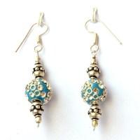 Hand Made Earring Handmade Trendy Yellow Tel Fringes Drop ...