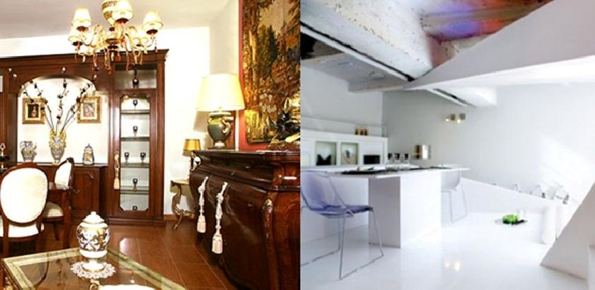 Lo stile che concede a voi e alla vostra casa l. Arredamento Classico O Moderno Maruti Mobili