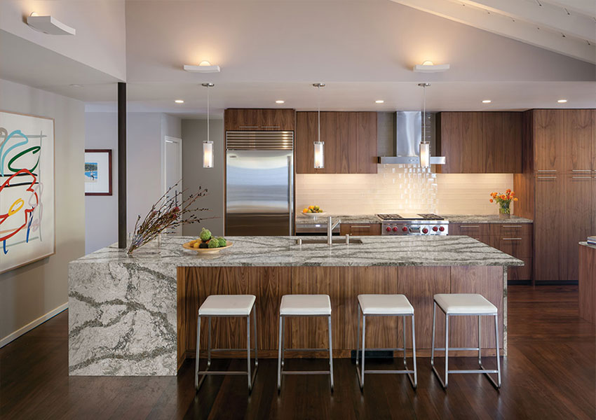 kitchen countertops cost pictures of designs choosing the correct countertop thickness: 2cm vs 3cm ...