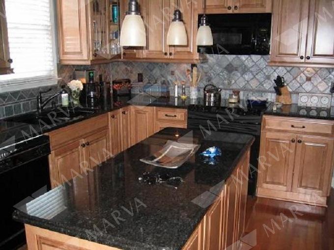 Black Pearl  Granite Designs  MARVA Marble and Granite