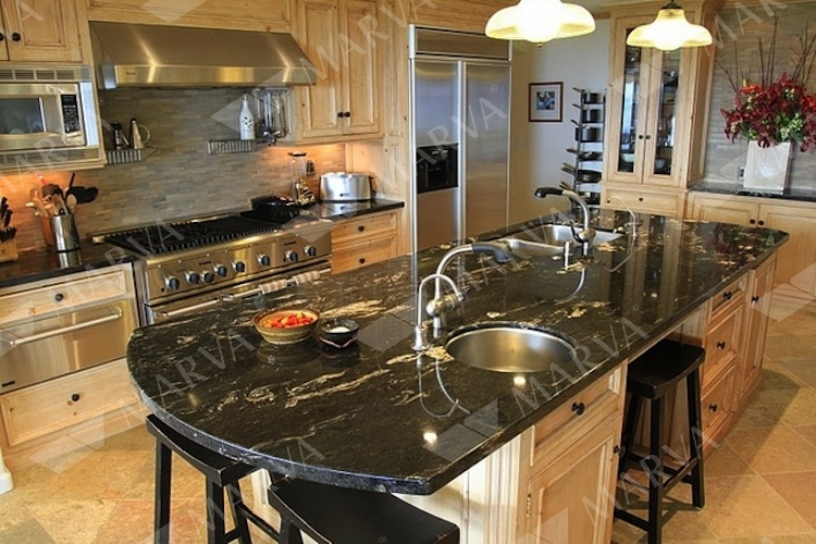 kitchen countertop refinishing distressed tables cosmic black - product search marva marble and granite