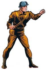 Image result for timely comics john steele
