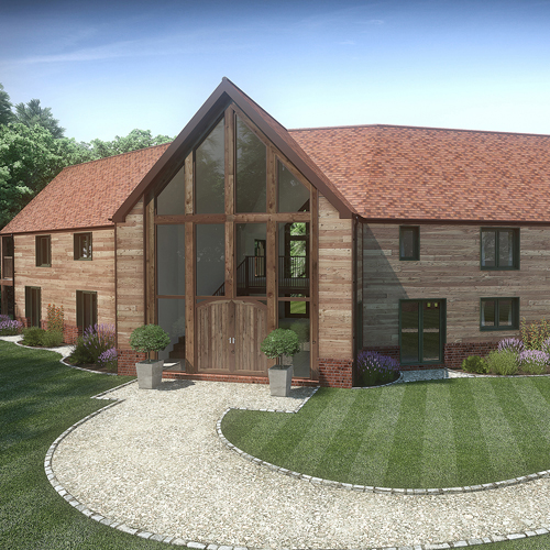 CGI Barn Conversion