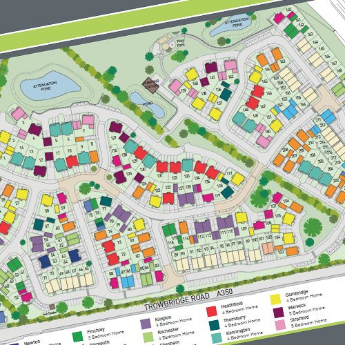 Property Developer's – Site plan